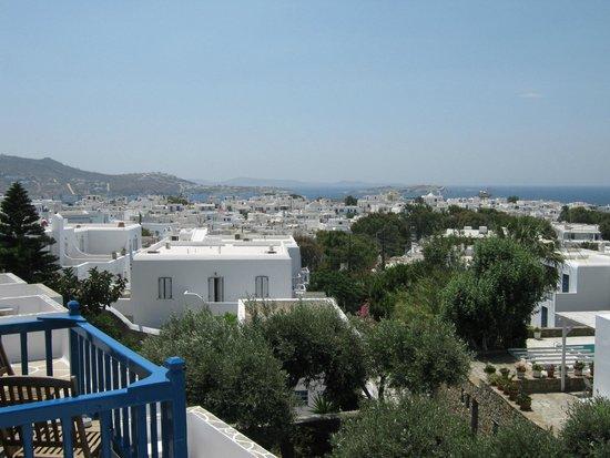 Rochari Hotel : View from balcony