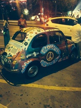 Pacha Ibiza: Decorazioni serata Flower Power
