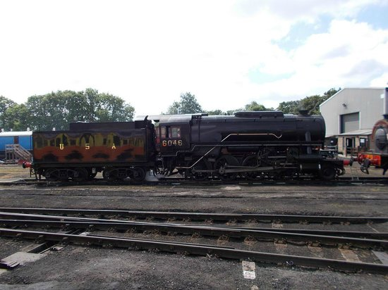 Nene Valley Railway: The loco that hauled our train