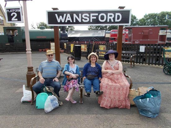 Nene Valley Railway: Some of the gang
