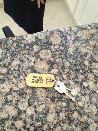 Hotel Florena Episkopos: το δωμάτιο μου