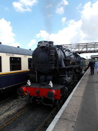 Nene Valley Railway: The Half Century Express our joint 50th Loco and train