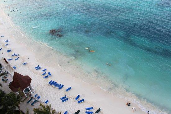 Hotel Riu Cancun: Вид из номера