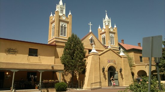 Albuquerque Old Town: Church at Old Town