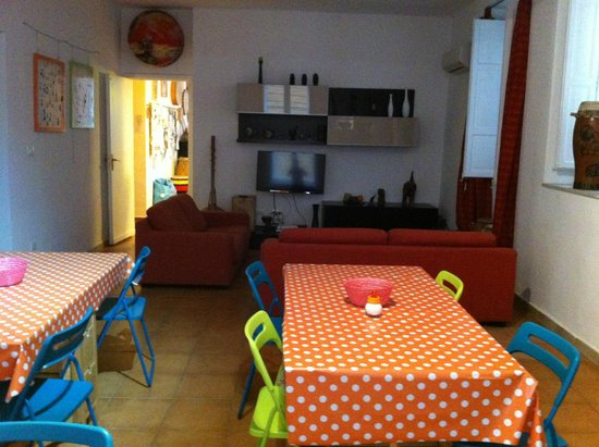 A Casa di Amici Hostel and Guest House : Lounge and Breakfast area