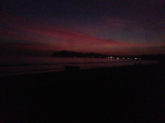 Samara Beach: End of a perfect day!