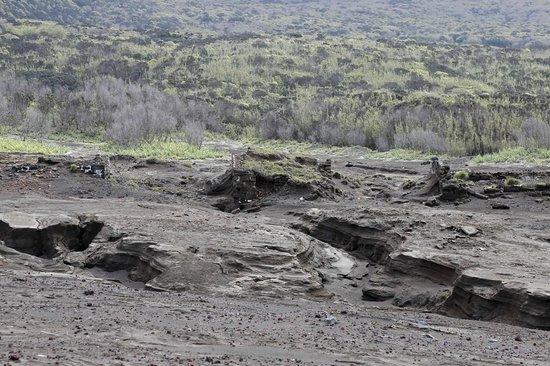 Capelinhos : The ruins of the village