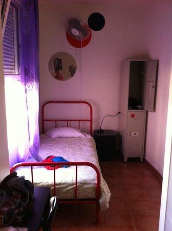 Las Musas Hostel: nice rooms, quite spacious for hostel