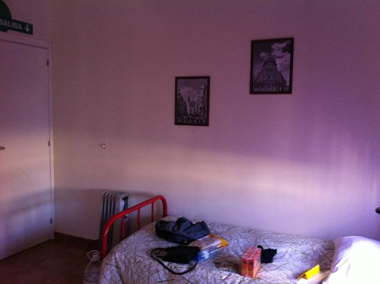 Las Musas Hostel: other side of the room