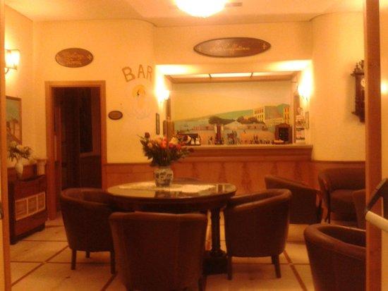 Grand Hotel Europa: Ingresso