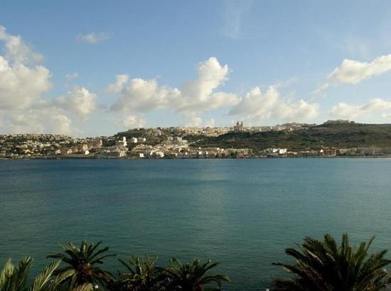 Mellieha Bay Hotel : the view