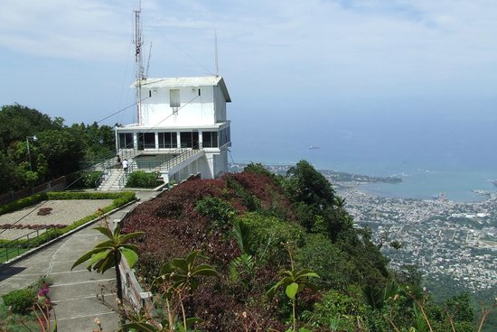 Teleferico Puerto Plata Cable Car : Cable car station at summit