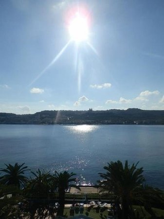 Mellieha Bay Hotel : view from room