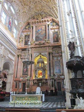 Mezquita-Catedral de Córdoba: choeur de la cathédrale
