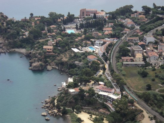 Hotel Le Calette: View of hotel from above