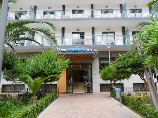 Hotel Melina: entrada principal
