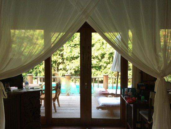 Santhiya Koh Phangan Resort & Spa: View from the hideaway room