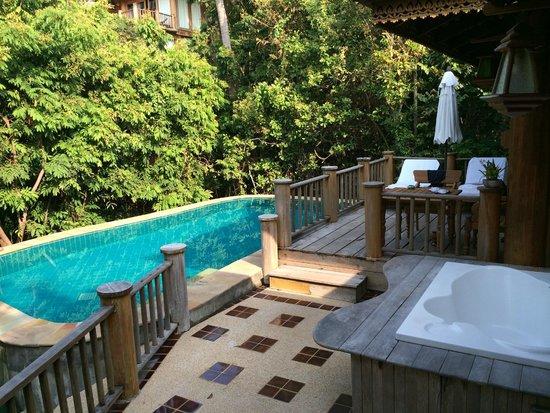 Santhiya Koh Phangan Resort & Spa: The hideaway pool