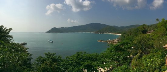 Santhiya Koh Phangan Resort & Spa: View from breakfast