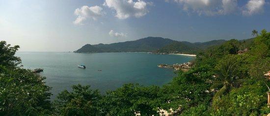 Santhiya Koh Phangan Resort & Spa : View from breakfast