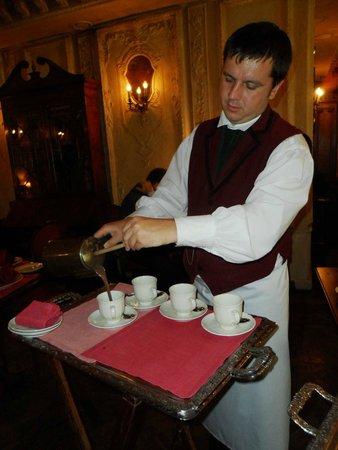 Café Pushkin : préparation