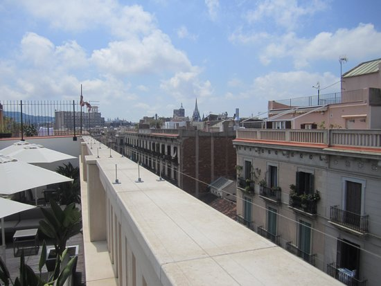 K+K Hotel Picasso : Roof top view