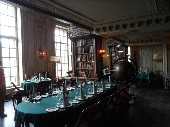 Café Pushkin : salle au 1er étage
