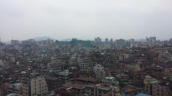 Gangnam Family Hotel: ホテルからの景色