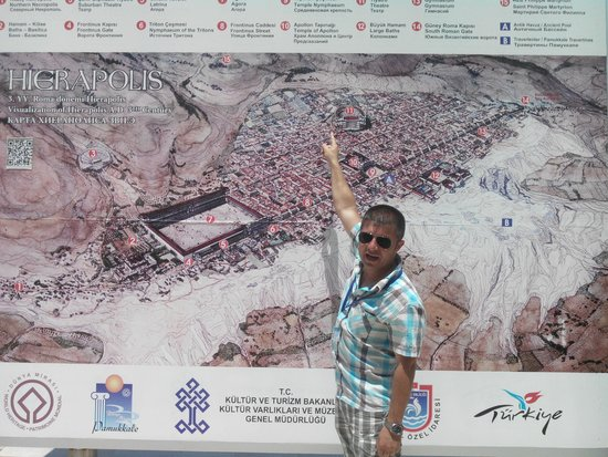 Hierapolis & Pamukkale: Site de Hierapolis