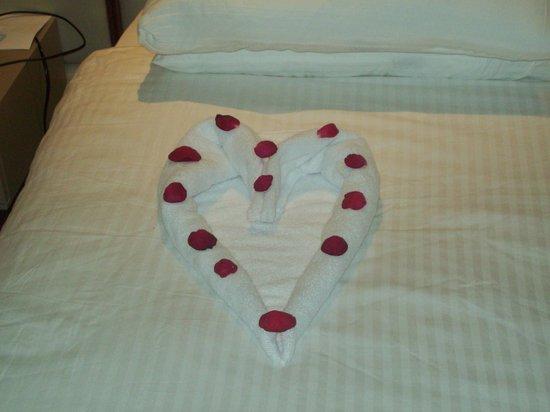 SENTIDO Lykia Resort & Spa: towel art