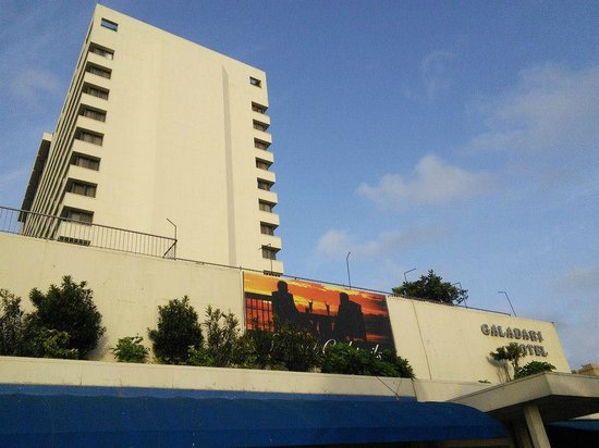 Galadari Hotel: View from outside