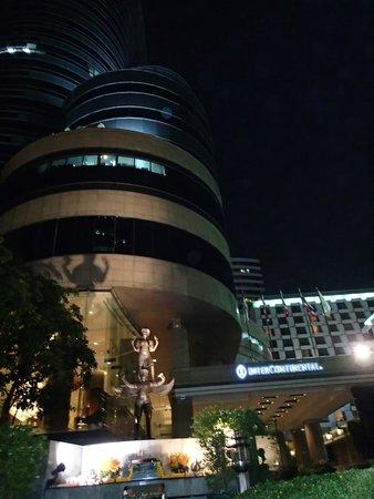 InterContinental Bangkok: by night