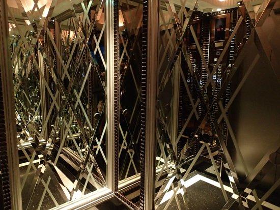 InterContinental Bangkok: l'ascenseur