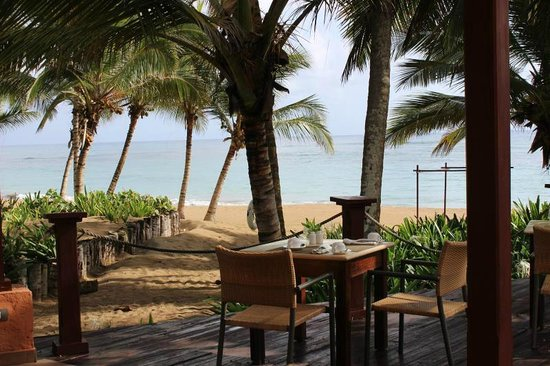 Sivory Punta Cana Boutique Hotel: Outdoor dining view