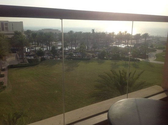 Park Hyatt Abu Dhabi Hotel & Villas: View from the balcony.