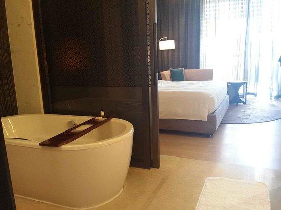 Park Hyatt Abu Dhabi Hotel & Villas: From the bathroom view