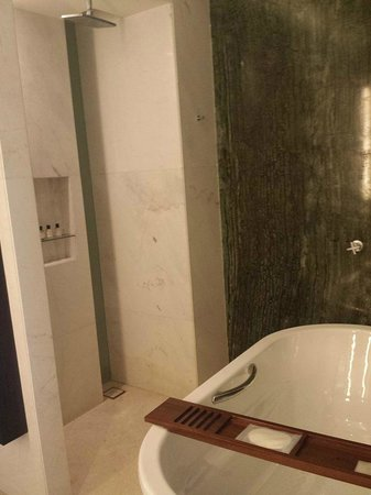 Park Hyatt Abu Dhabi Hotel & Villas: Shower