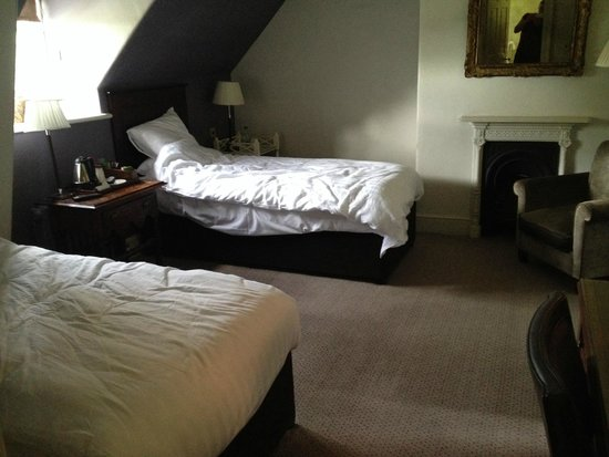 Chilston Park Hotel: Twin room (on check out) in the Main House