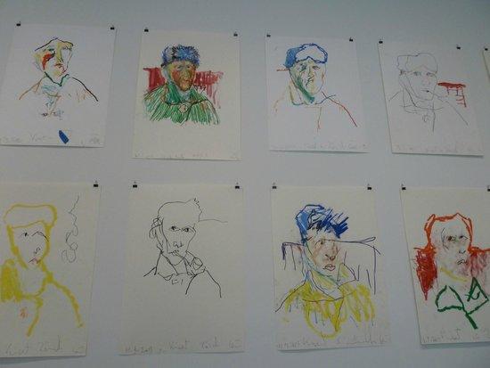 Espace Van Gogh: dessinsde Van Gogh