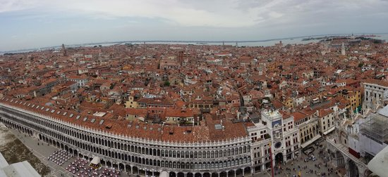Campanile di San Marco: Vistas desde el Campanille de Venezia