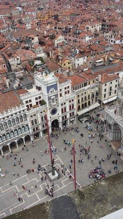 Campanile di San Marco: Vistas desde el Campanille de Venezia - Piazza San Marco