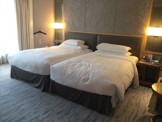 Kerry Hotel Beijing: Executive suite twin bedroom