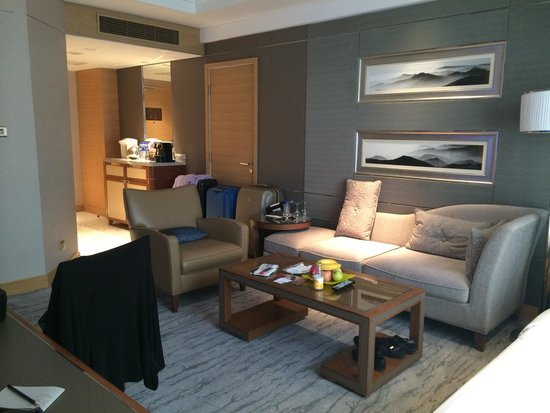 Kerry Hotel Beijing: Executive twin lounge