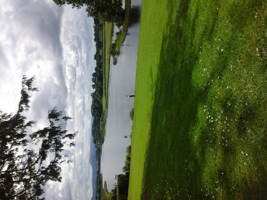 Killyhevlin Lakeside Hotel & Lodges: view from the terrace