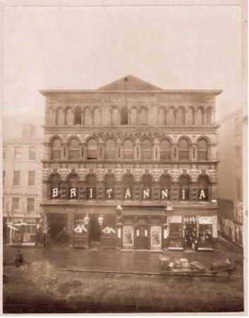 Britannia Panopticon  Music Hall: Britannia Panopticon Music Hall 1880's