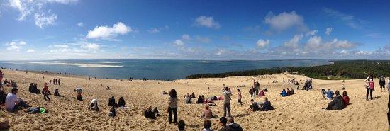 Dune du Pilat : Vue de la dune