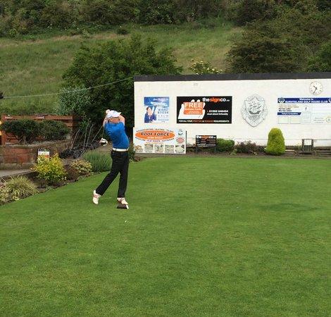 Burntisland Golf House Club: 1st Tee.