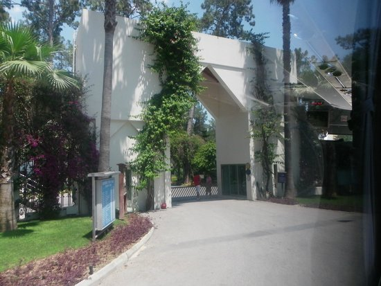 Club Med Palmiye: l'entrée du Club