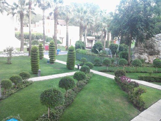 Club Med Palmiye: les jardins