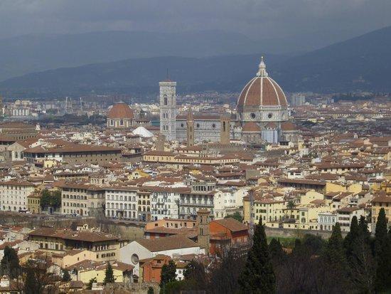 Duomo - Cattedrale di Santa Maria del Fiore: Панорама Флоренции